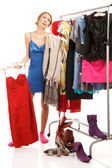 What should I dress? — Stock Photo