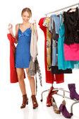Nada para vestir! — Foto Stock