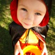 Boy in halloween costume — Stock Photo