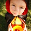 Stockfoto: Boy in halloween costume