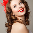 Stock Photo: Pin-up