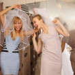 Having fun in bridal Boutique — Stock Photo #29638797