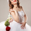 Pin up bride — Stock Photo #29638957