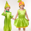 Stock Photo: Funny costumes