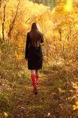 περπάτημα μακριά — Φωτογραφία Αρχείου