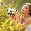 Spring bride — Stock Photo