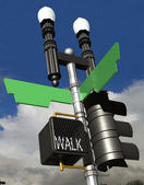 Street Corner Sign — Stock Photo