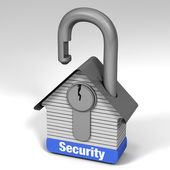 Home Security — Stock Photo