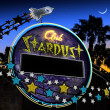 Club Stardust Neon Sign — Stock Photo #13892118
