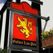 Stock Photo: Golden Lion Pub