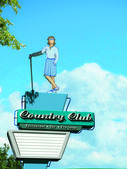 Country Club Female — Stock Photo