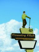 Mężczyzna country club — Zdjęcie stockowe