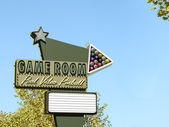 Game Room Neon Sign — Stock Photo