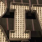 Pittura delle lettere — Foto Stock