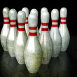 Stockfoto: Bowling Pins