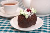 Chocolate сake — Stock Photo