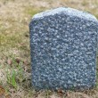 Stock Photo: Tombstone