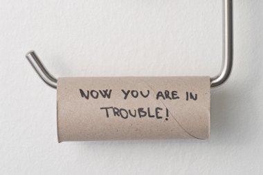 Toilet paper empty