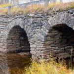 Stone arch bridge — Stock Photo
