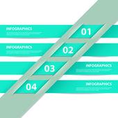 современный дизайн инфографика шаблон — Cтоковый вектор