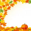 Stock Photo: Thanksgiving background