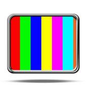Television set — Stock Photo