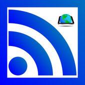 RSS RSS — 图库照片