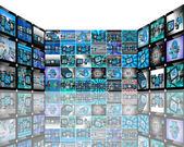 Tv-abstraktion — Stockfoto