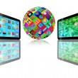 Two tablet — Stock Photo #23568709
