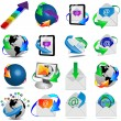 Web icons 18.04.13 — Stockfoto