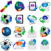 Web icons 18.04.13 — Stock Photo