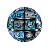 Sphere film 18.04.13 — Stock Photo