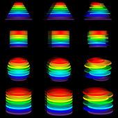 Logos spectrum 25.04.13 — Stockvektor