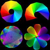 Set of logos 25.04.13 — Stock Vector