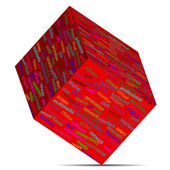 Cubo 12.05.13 — Vector de stock