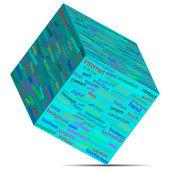 Cube 12.05.13 — Stock Vector