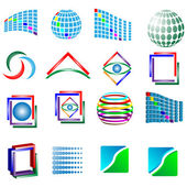 Set of logos 03.06.13 — Stock Vector