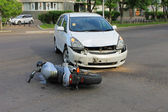 Traffic accident 07.06.13 — Stock Photo