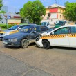 Stock Photo: Cars after accident 09.06.13