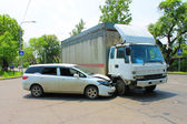 Traffic accident 09.06.13 — Stock Photo