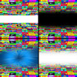 Set of multimedia abstraction of web icons 11.06.13 — Stock Photo