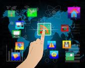 Interfejsy i ikony 09.07.13 — Zdjęcie stockowe