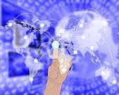 Conexão do mundo — Fotografia Stock