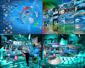World of internet — 图库照片