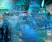 Welt des internets — Stockfoto