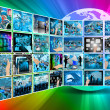 Stock Photo: Internet interface