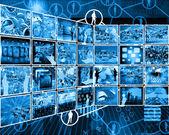 国际互联网接口 — 图库照片