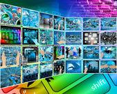 Internet-schnittstelle — Stockfoto