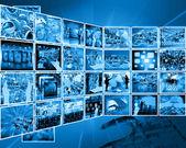 Интерфейс Интернета — Стоковое фото