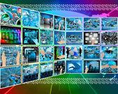 Internet interface — Stock Photo